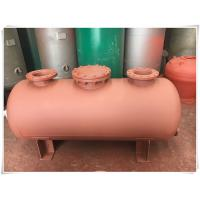 Buy Carbon Steel Horizontal Air Compressor Receiver Tank Of Screw Compressor Medium Pressure at wholesale prices