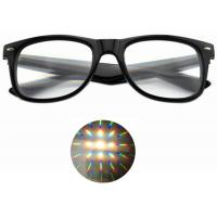 Quality Premium Diffraction Prism Rave Glasses Rainbow Glasses For New Year Holidays Parties for sale