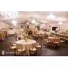 Romantic Luxury Outdoor Tent Wedding With Decoratio , SGS / TUV / CE Passed for sale