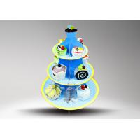 Quality Environmental Protection cupcake cake stand / POP Cake Stand for sale
