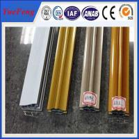 Buy 6063 t5 aluminum profiles custom products triangle pipe / electrophoresis at wholesale prices