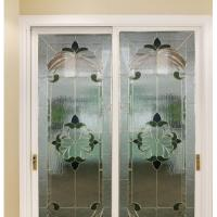 Quality decorative glass usded in French door for sale