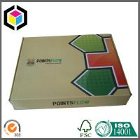 Quality Folding Corrugated Shipping Box; Glossy Color Printing Cardboard Shipping Box for sale