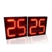 Quality 5V Red Color LED Countdown Timer For Basketball Game Customized Design for sale