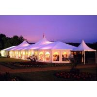 Romantic Big Aluminium Event Tent 850 G / Sqm Pvc Roof Cover For Banquet for sale