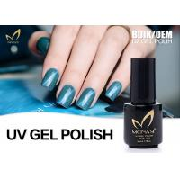 Quality Non - Acid High Gross Cat Eye Gel Nail Polish That Changes Color No Fade for sale