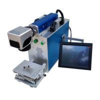 Quality Stainless Steel Sheet Metal Marking Machine , Fiber Optic Laser Engraving Machine for sale