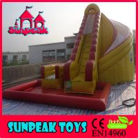 China WL-1824 Hot Sale Inflatable Slide Combo, Giant Inflatable Water Slide For Sale on sale