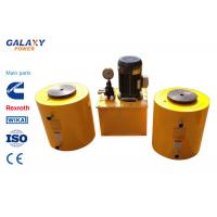 Quality Double Acting Small Hydraulic Cylinder Central Solid Hydraulic Jack Hollow Plunger for sale