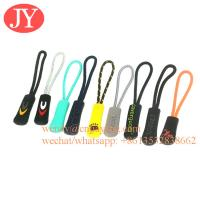 Jiayang Durable nylon cord Zipper Pull Zipper Tags Cord Pulls Zipper for sale