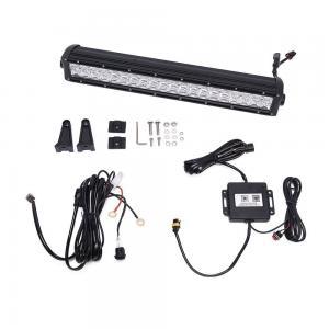 Quality 6000K Dual Row Car Light Bar / Aluminum Housing LED Auto Light Bar for sale