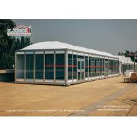 Buy cheap 6x6m Modular cube Outdoor Party Tent with Thermo Roof for Luxury Event from wholesalers