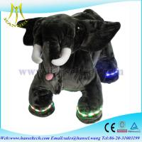 Quality Hansel plush motorized animals battery operated ride animals for sale