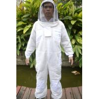 Quality Three Layer Ventilated Beekeeping Protective Clothing with Pointed Hat for sale