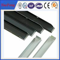 Quality large wholesale aluminum solar frame extrusion, OEM Aluminum solar panel frame for sale