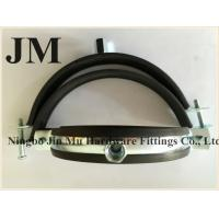 Buy cheap Customized Thickness Standard Rubber Pipe Clamp OEM / Neutral Packing from wholesalers