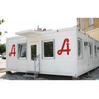 Quality Prefabricated Portable Modular Homes Luxury Flatpack With Light Structure for sale