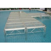 Buy Mobile Portable Polymethyl Methacrylatel Stage Platform For Wedding ,  Temporary Stage Platforms at wholesale prices