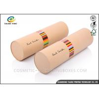 Quality Handmade Cardboard Mailing Tubes , Custom Printed Shipping Tubes Cylinder Shape for sale