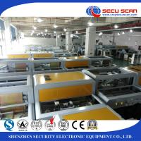 China 160Kv X Ray Baggage Scanner and Luggage Screening Inspection Machine resolution in 38-40 AWG for sale