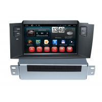 Quality Car Infor Citroen DVD Player C4L Android GPS Navigation with Rear view Camera for sale