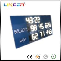 Buy cheap 12 inch White Digits College Electronic Soccer Scoreboard Led Football Scoreboard from wholesalers