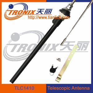 Quality am fm function telescopic car antenna/ active car antenna/ telescoping antenna mast TLC1410 for sale