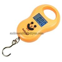 Quality ABS Plastic Hanging Gram Scale , Units Conversion Handheld Luggage Scale for sale
