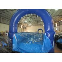 Quality Inflatable no slope runway water slide long Inflatable level water slide for children for sale