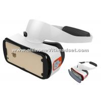 Quality ABS PC Android 3d Virtual Reality Headset For Cellphone Bluetooth Controller for sale