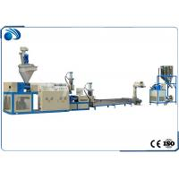Quality Double Stage Plastic Recycling Line Pelletizing Equipment For PP PE PS Scraps 100~500kg/h for sale