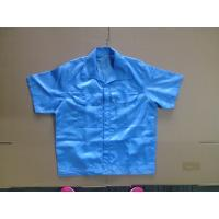Quality Unisex Design Cleanroom Lint Free ESD Polyester Working Shirt for sale
