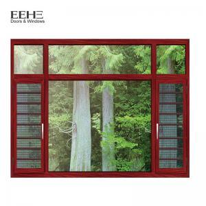 Quality Fly Screen Bronze Aluminium Windows , Turn Aluminum Clad Casement Windows for sale