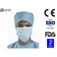 Quality Full Face Sanitary Designer Surgical Masks , Medical Mouth Cover Silk Like Multi Layers for sale