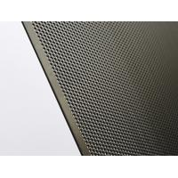 Quality Stable Double Doors Round Hole Aluminum Perforated Sheet Easy To Clean / Install for sale