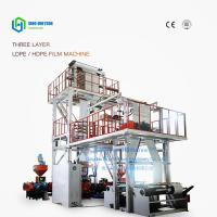 Quality Sinohs CE ISO  SJ-75 Co-Extrusion Film Blowing Machine for sale