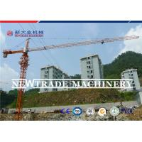 China QTZ80 series TC6010 6T Luffing jib tower crane , top slewing tower crane on sale