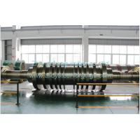Quality Custom Heavy Alloy / Stainless Steel Forgings Large Forged Shaft Steam Turbine Rotor for sale