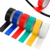 China Splice and insulate wires up to 600V Electrical Tape ,0.18mm thick ,various color on sale