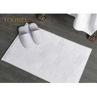 Quality Cotton Jacquard Hotel Bath Mats Carpet For 4 Or 5 Star Hotel for sale