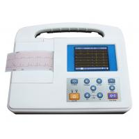 Quality single channel ECG machine,EKG machine with LCD screnn built-in battery SG2301 for sale