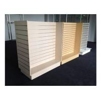 Quality Customized Slatwall Display Units , Store Display Shelving For Sport Clothing Shop for sale