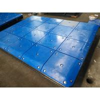 Quality Customized Impingement Sheet Marine Panels Bolted With UHMW - PE Face Pads for sale