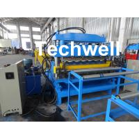 Quality Steel Double Layer Roof Roll Forming Machine / Roofing Sheet Roll Forming Machine for sale