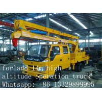 Buy high quality aerial working platform truck for sale at wholesale prices