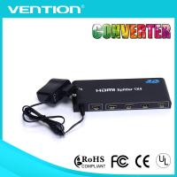 China 1 Input 4 Output HDMI Splitters 1.4V HDMI Distribution Amplifier 3D HDCP 1080P 4K*2K 1x4 for sale