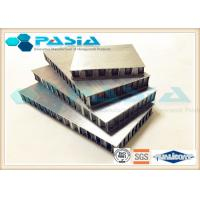 China Brush Finish Stainless Steel Honeycomb Panels For High Level Exclusive Shops on sale