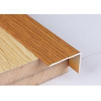 Buy Industrial 30 X 50 Aluminium Angle Profiles Wood Grain Transfer Printing at wholesale prices