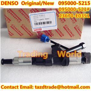 Quality DENSO Original /New Injector 095000-521# /095000-5215/095000-5212/095000-5211/23670-E0351 for sale