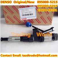 Quality DENSO Original /New Injector 095000-521# /095000-5215/095000-5212/095000-5211/23670-E0351 for sale